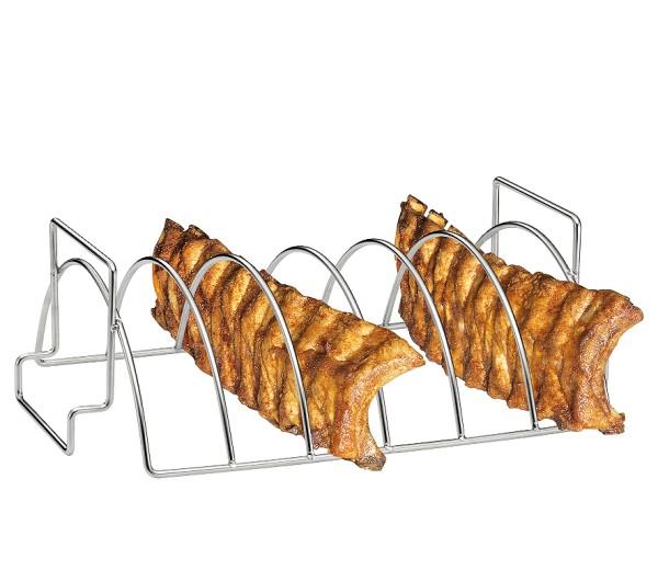 Spareribs- und Braten-Rack BBQ