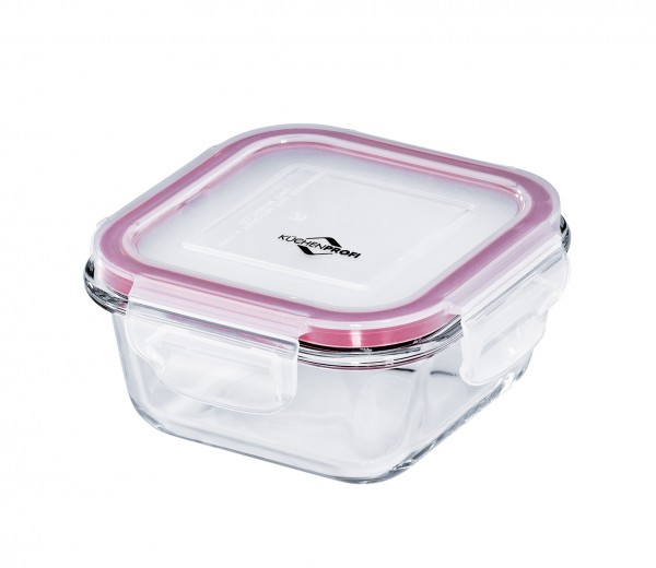 Lunchbox/Vorratsdose Glas quadr.